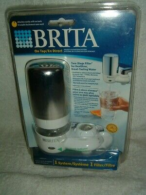 £17.46 • Buy Brita On Tap Faucet Filtration System Model FF-100 Two Stage Filter