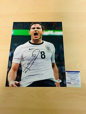 £72.71 • Buy FRANK LAMPARD SIGNED 11x14 PHOTO PSA CERTIFIED CHELSEA ENGLAND #1