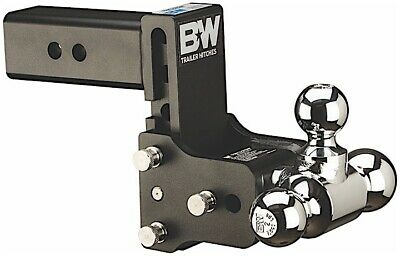 $ CDN339.55 • Buy B&W HITCHES TS20037B Tow & Stow Dual-Ball Hitch 2 - 2 5/16  With 2.5  Shank