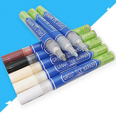 Grout Pen Tile Paint Marker White Waterproof Grout Colorant And Sealer Pens • 3.12£