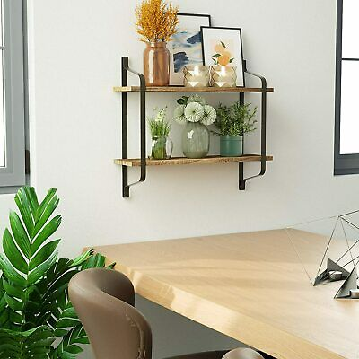 £15.95 • Buy Clothes Rail Tube Industrial Pipe Clothing Rack Wall Mounted Hanging Towel Rail