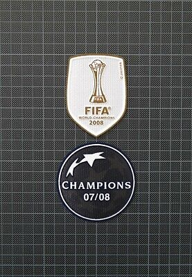 £9 • Buy UEFA Champions League Winners 2007/2008 & FIFA World Champions 2008 Patches