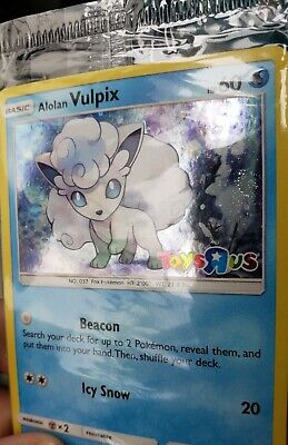$85 • Buy Vulpix  Toys R Us Promo Pokemon Card Factory Sealed With SWIRL