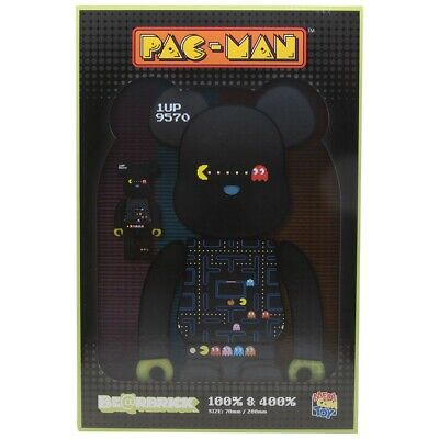 $175 • Buy Medicom BE@RBRICK Pac-Man 100% 400% Bearbrick Figure Set