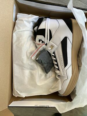 RHUDE PUMA CLYDE ALL-PRO KUZMA Kuz Mid White Pebble 194836-01 Sz. 11.5 Brand New • 97.31£