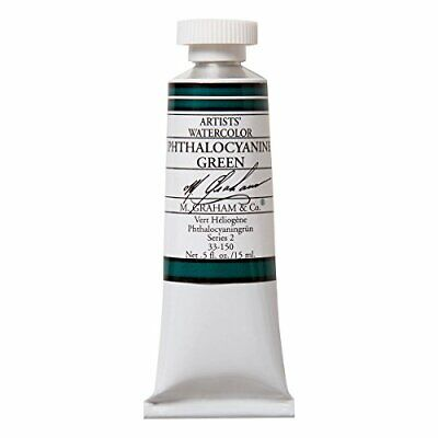 $10.42 • Buy M. Graham 1/2-Ounce Tube Watercolor Paint, Phthalo Green