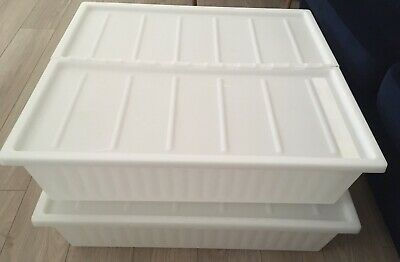 IKEA Under-bed Storage Boxes With Lids • 7£