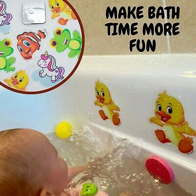 Wall Tile Safety Decal Stickers For Kids Children Baby Bathroom Bathtub Fun  • 5.99£