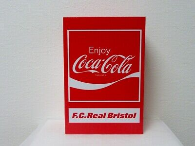 $359 • Buy BE@RBRICK F.C.Real Bristol COCA-COLA 100 400 Bearbrick F.C.R.B Limited Medicom