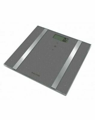 £17.31 • Buy Salter Large Dashboard Glass Analyser Scale BMI, BMR  Upto 180kg 12 User Memory