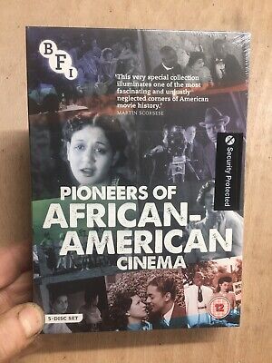 Pioneers Of African-American Cinema(5xDVD R2)New+Sealed BFI Race Films 1920s 40s • 34£
