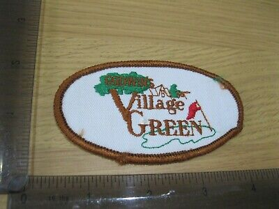£4.95 • Buy Village Green Golf Club Godwin's Patch Badge Vintage 1980s Sew Or Iron On Cq