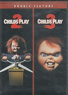 Child's Play 2 / Child's Play 3 Double Feature DVD 1990 / 91 / 2015 [A4] • 7.87£
