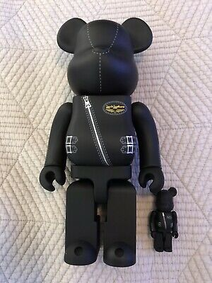 $175 • Buy Medicom BE@RBRICK Lewis Leathers 100% 400% Bearbrick Set Excellent Condition