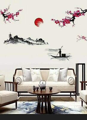 Bedroom Living Room Japanese Style Wall Stickers • 10£