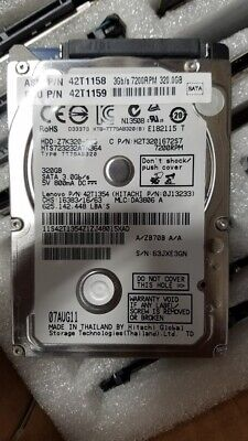 $ CDN62.75 • Buy Lot Of 5 - Assorted Brands 2.5  320GB SATA Laptop HDD Hard Drive- Tested & Wiped