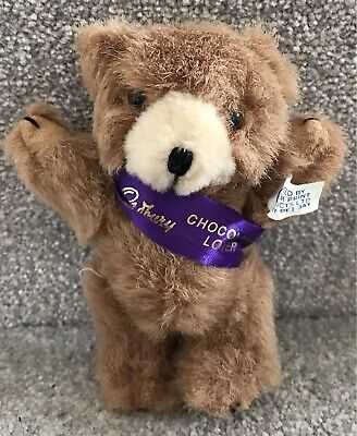 £12 • Buy Vintage Cadbury's Chocolate Lover Promotional Miniature Jointed Teddy Bear