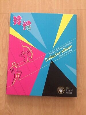 £500 • Buy The Royal Mint London 2012 Sports Collection Collector Album 29 Coins &Completer