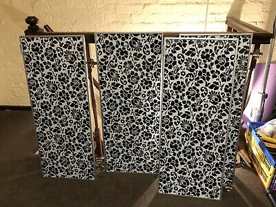 IKEA MORLIDEN Glass Doors With Hinges For Billy Bookcases  • 60£
