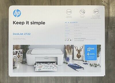 View Details NEW HP DeskJet 2722 All-in-One Wireless Color Inkjet Printer – Instant Ink Ready • 99.99$