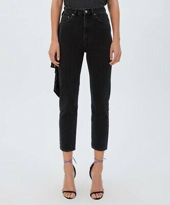 AU130 • Buy ** KSUBI **  Chlo Wasted High Wasted  Black Wash Jeans Size 27
