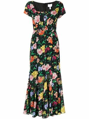AU180 • Buy BNWOT Alice McCall Black Floral PICASSO Dress Size 14 RRP $550