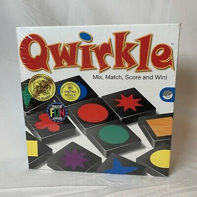 $ CDN25.31 • Buy Qwirkle Cubes Game By MindWare   Mix Match Roll And Win   2-4 Players Ages 6+