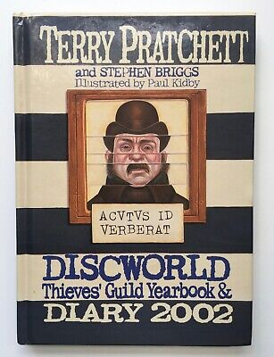 £100 • Buy Discworld Thieves' Guild Yearbook & Diary 2002 - SIGNED By Terry Pratchett
