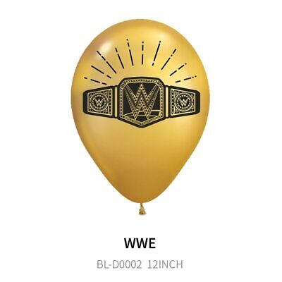 WWE Wrestling Boxing TV Game Birthday Party Supplies Balloons Decorations Banner • 5.99£