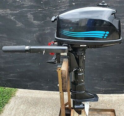 AU749 • Buy Marine Tech 5hp Outboard Motor - T5bm
