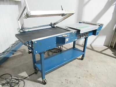 WRAPOMATIC L-BAR SEALER MODEL LEC 20X32 25 INCHES WIDE 220 VOLTS ( Tested ) • 2,145.77£