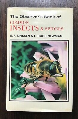 £10.99 • Buy Observer's Book Of Common Insects And Spiders 1975
