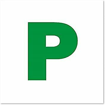 Magnetic P Plates New Driver Learner Driver • 5.99£