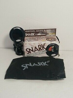 $ CDN17.66 • Buy Snark SN-5 Clip-On Chromatic Guitar, Bass & Violin Tuner - Black Stay Put Clip