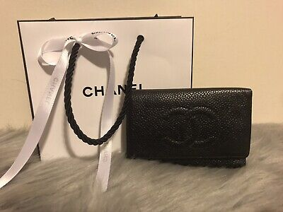 £201.78 • Buy 100% Authentic Chanel Black Logo Six Key Ring Keychain With Shopping Bag