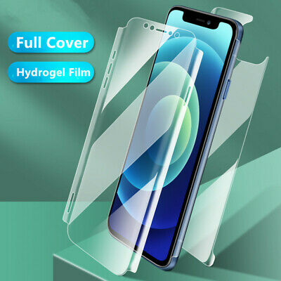 AU3.98 • Buy Soft Hydrogel Screen Back Protector Cover For IPhone 12 Pro Max 11 XR XS X 7 8+