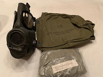 $89.99 • Buy M17a2 Mask New Small With Filter And Bag With Chemical Hood 1984 Msa Mfg