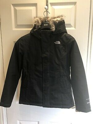 £76.99 • Buy Girls North Face Parka Down Filled Coat Size Large Girls With Fixed Hood