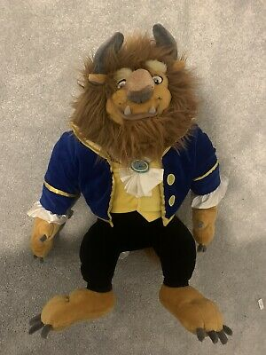 """Beauty And The Beast Soft Plush Toy Disney Store Large 19"""" • 18£"""