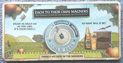 £1.20 • Buy Magners Cider Each To Their Own Magners Beer Mat
