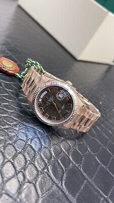 £26500 • Buy Rolex Day Date 36mm Rose Gold 118235 Chocolate Wave Box & Papers 2014