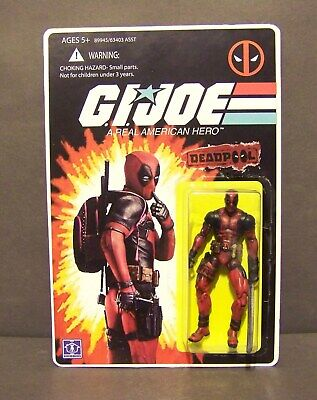 $ CDN80.34 • Buy Custom GI Joe Figure And Package Of DEADPOOL