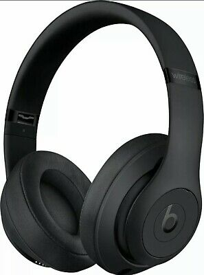 Beats By Dr. Dre Beats Studio3 Wireless Over-Ear Headphones - 2020 - Matte Black • 170.15£