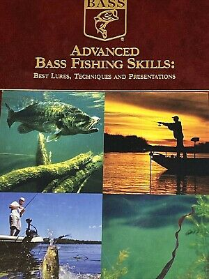 £7.18 • Buy Advanced Bass Fishing Skills: Book For Best Lures & Techniques- Bass Library