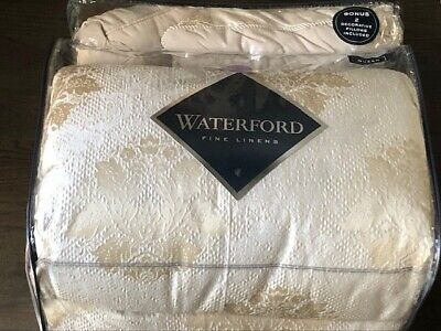 $ CDN184.82 • Buy WATERFORD Emmaline Champagne Jacquard Queen Comforter Set 8pcs