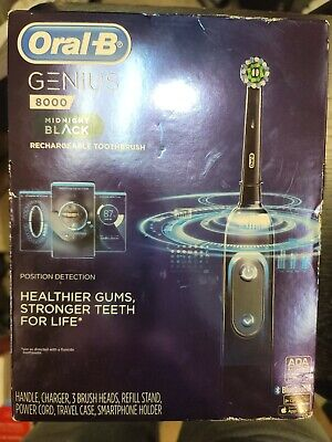 AU109.78 • Buy Oral-B D701 Genius 8000 Electronic Toothbrush, Black By Braun New In Box