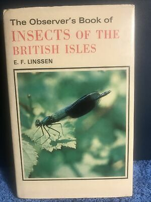 £7.50 • Buy Observer's Book Of Insects Of B/Isles 17 1978 Very Good Condition. Free Postage.