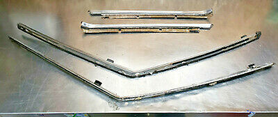 AU254.23 • Buy 76 77 Toyota Celica Gt Ra29 Chrome Drip Side Rail Molding Trim Rain Gutter Pair