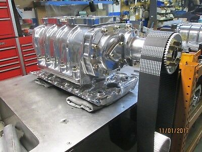 AU5841.23 • Buy New Complete Blower Kit Show Polished 440 Dodge 6-71 Street Gas Ready