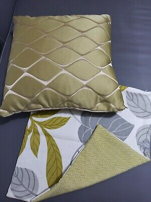 £10 • Buy Dunelm Mill Cushion Cover X 1 Plus Cover Plus Inner X1 Light Green Shades